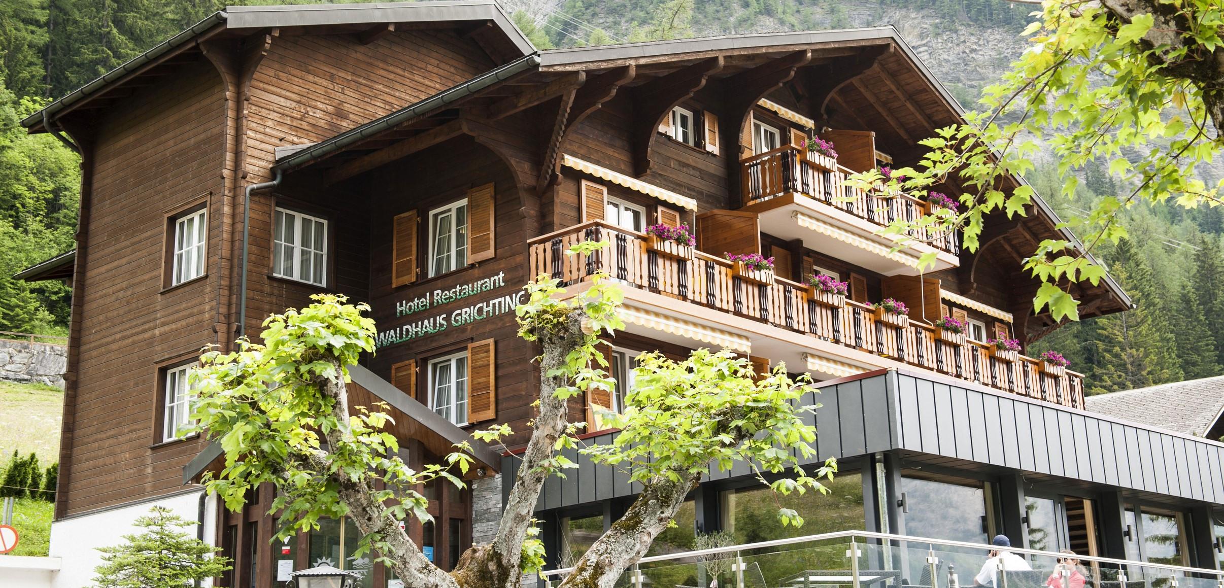 Hotel Waldhaus Leukerbad 100 % WIR Aktion